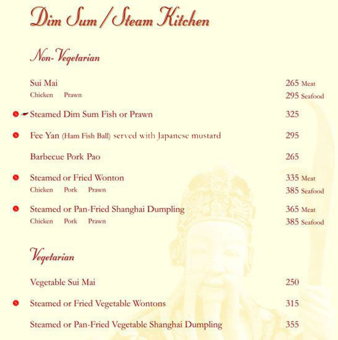 Menu Of China Garden China Garden Menu Connaught Place Cp Central Delhi Eazydiner