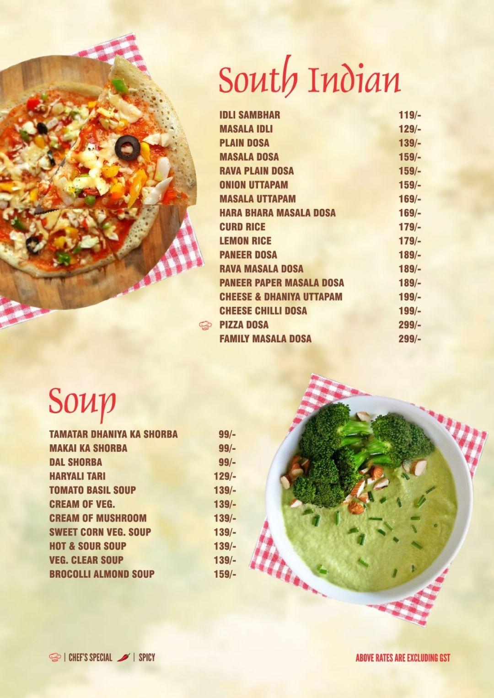 Dynasty Restaurant Menu, Menu for Dynasty Restaurant, Lal Kothi ...