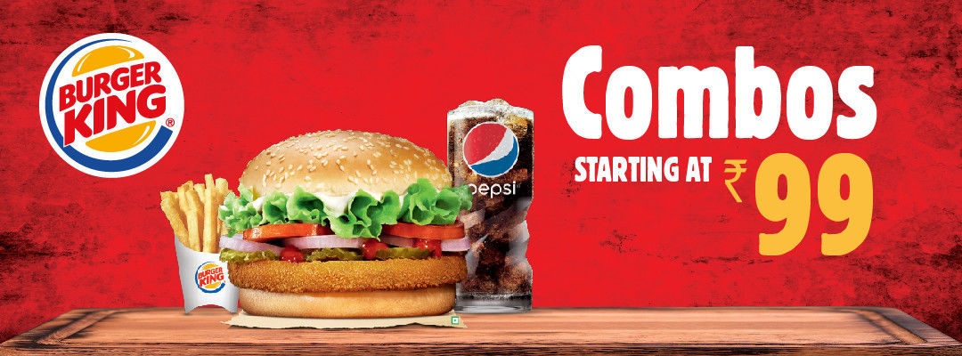 Offers at Burger King in Delhi NCR
