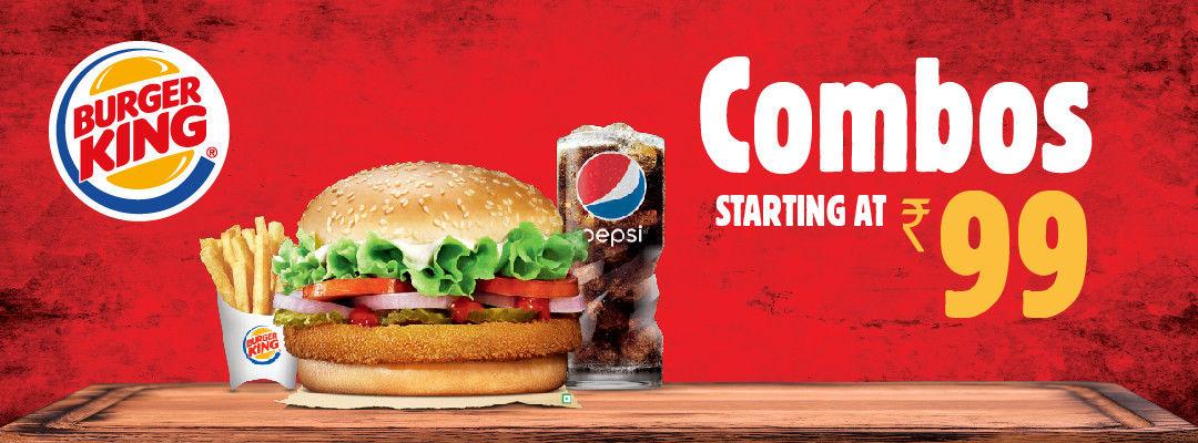 Offers at Burger King in Bengaluru