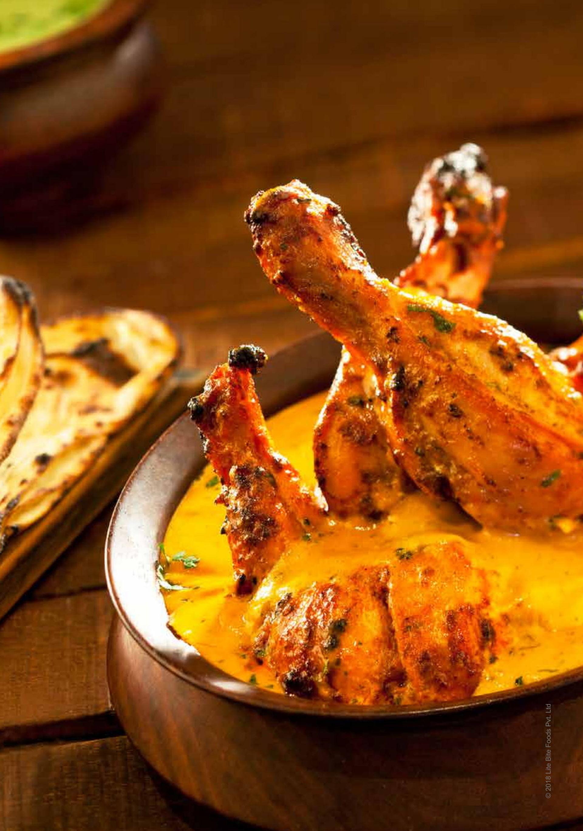 Menu of the Punjab Grill