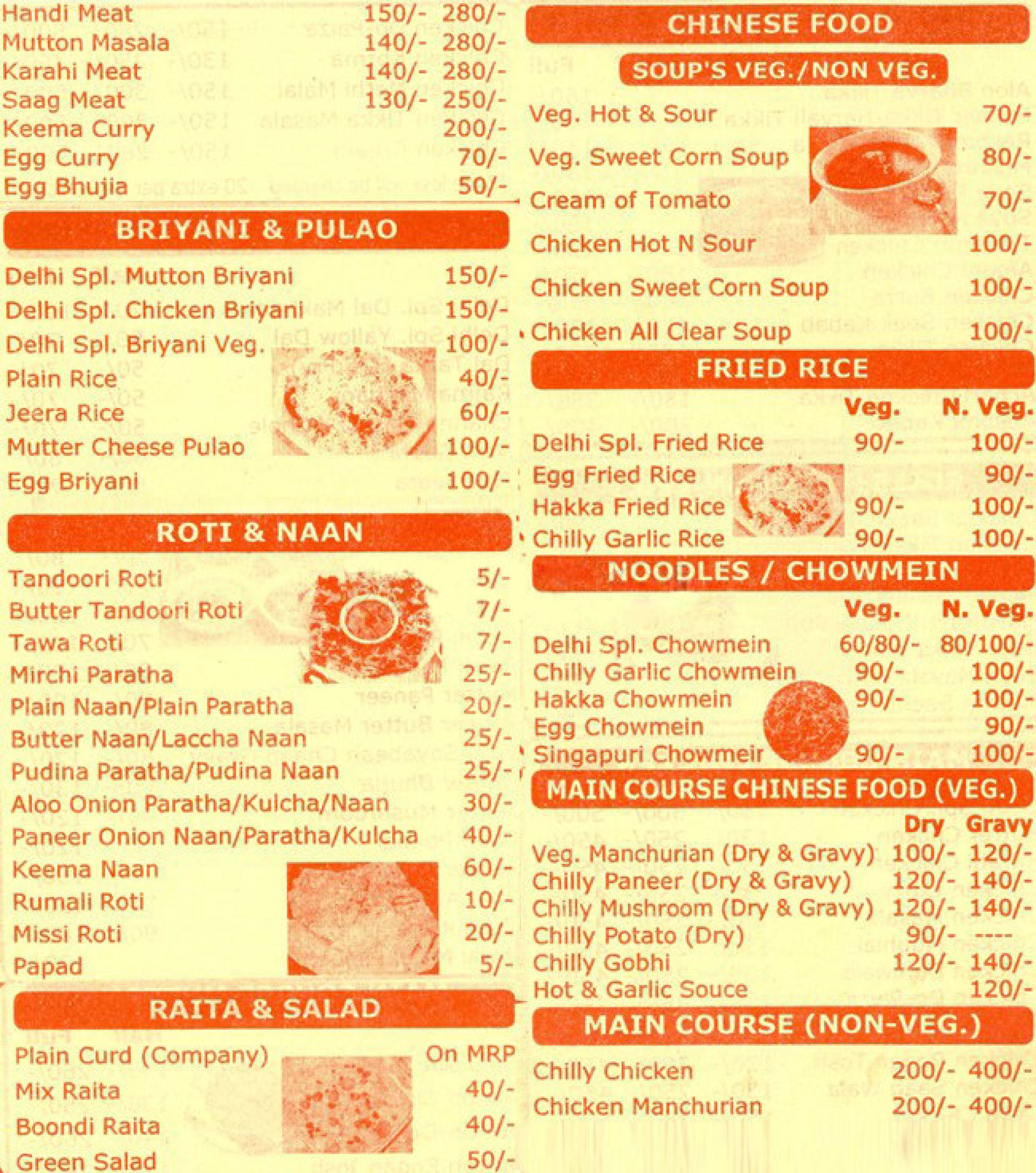 Cafe  Square Delhi Menu