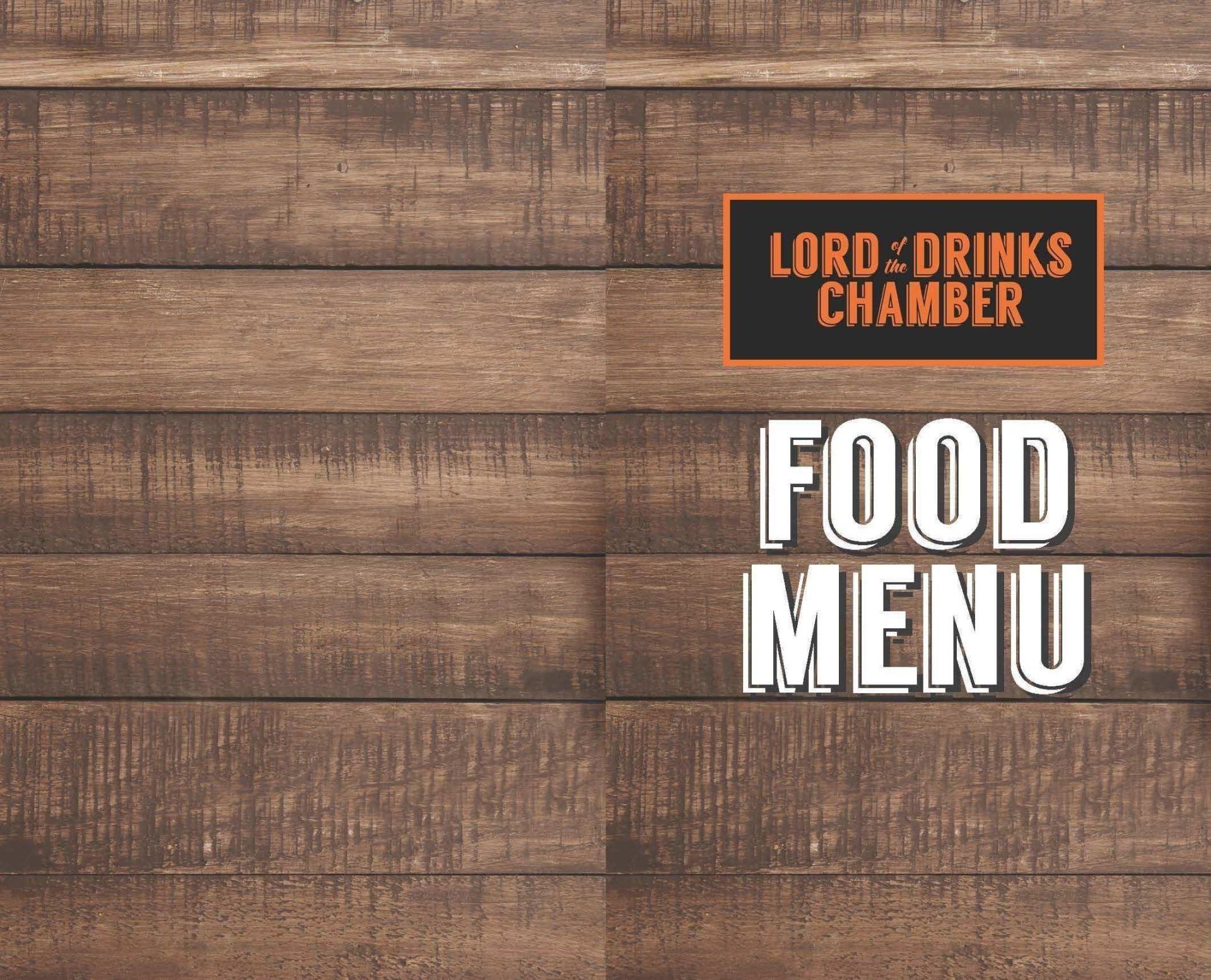 Menu of Lord of the Drinks Chamber, Rajouri Garden, West Delhi ...