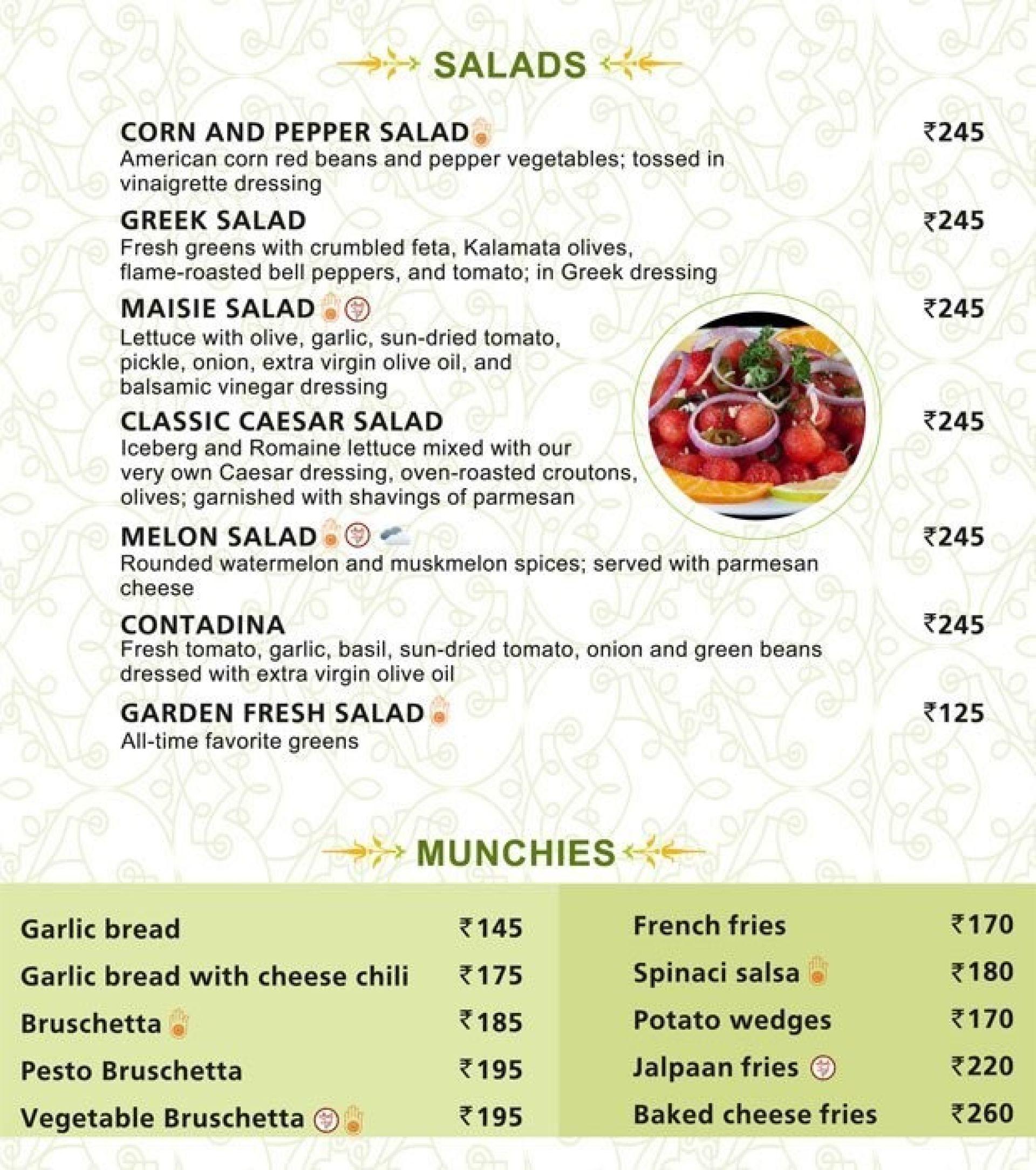 Menu of Jalpaan Restaurant, Satellite, West Ahmedabad, Ahmedabad ...
