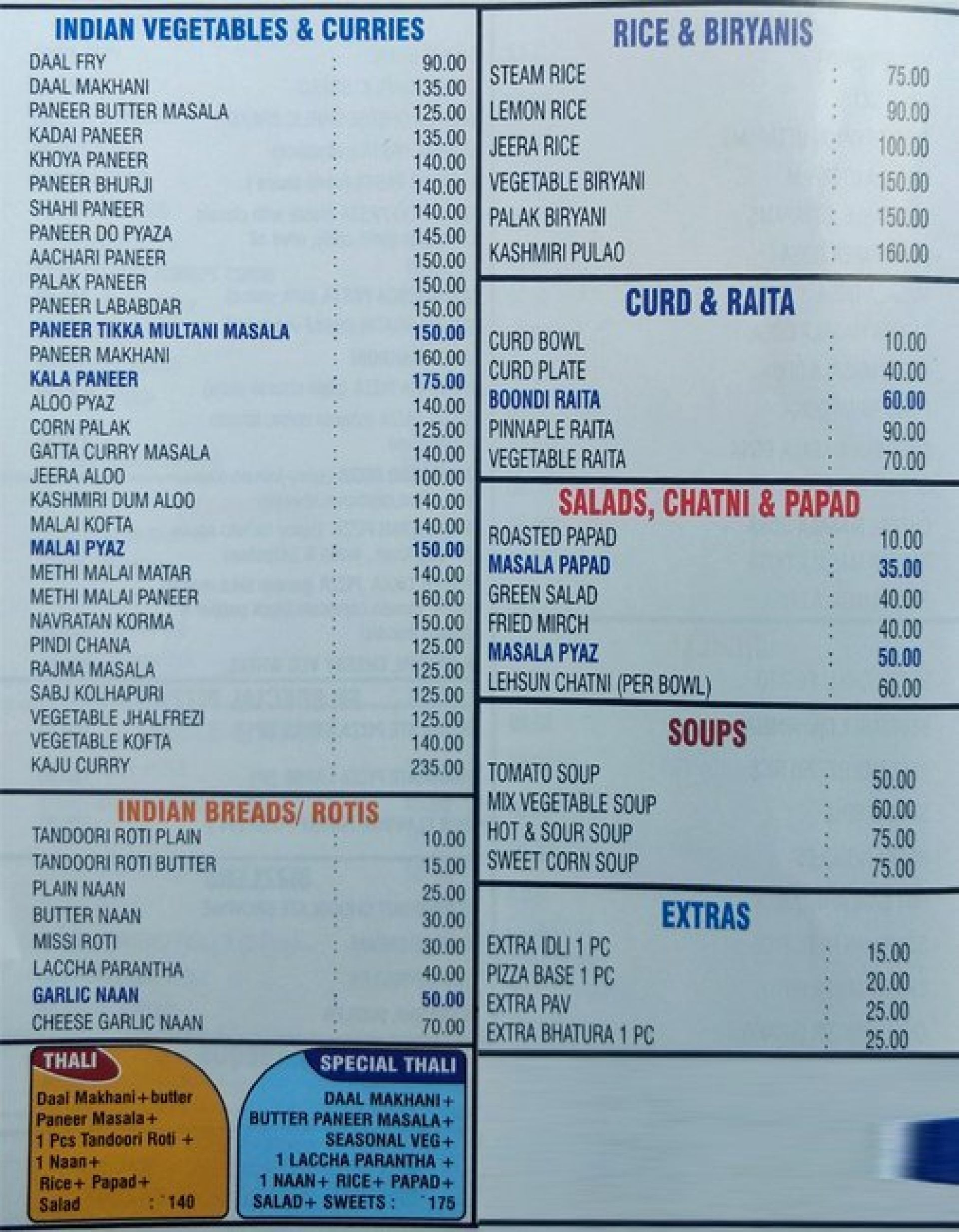 Menu of Friends Kitchen, Shastri Nagar, Jaipur, Jaipur | EazyDiner
