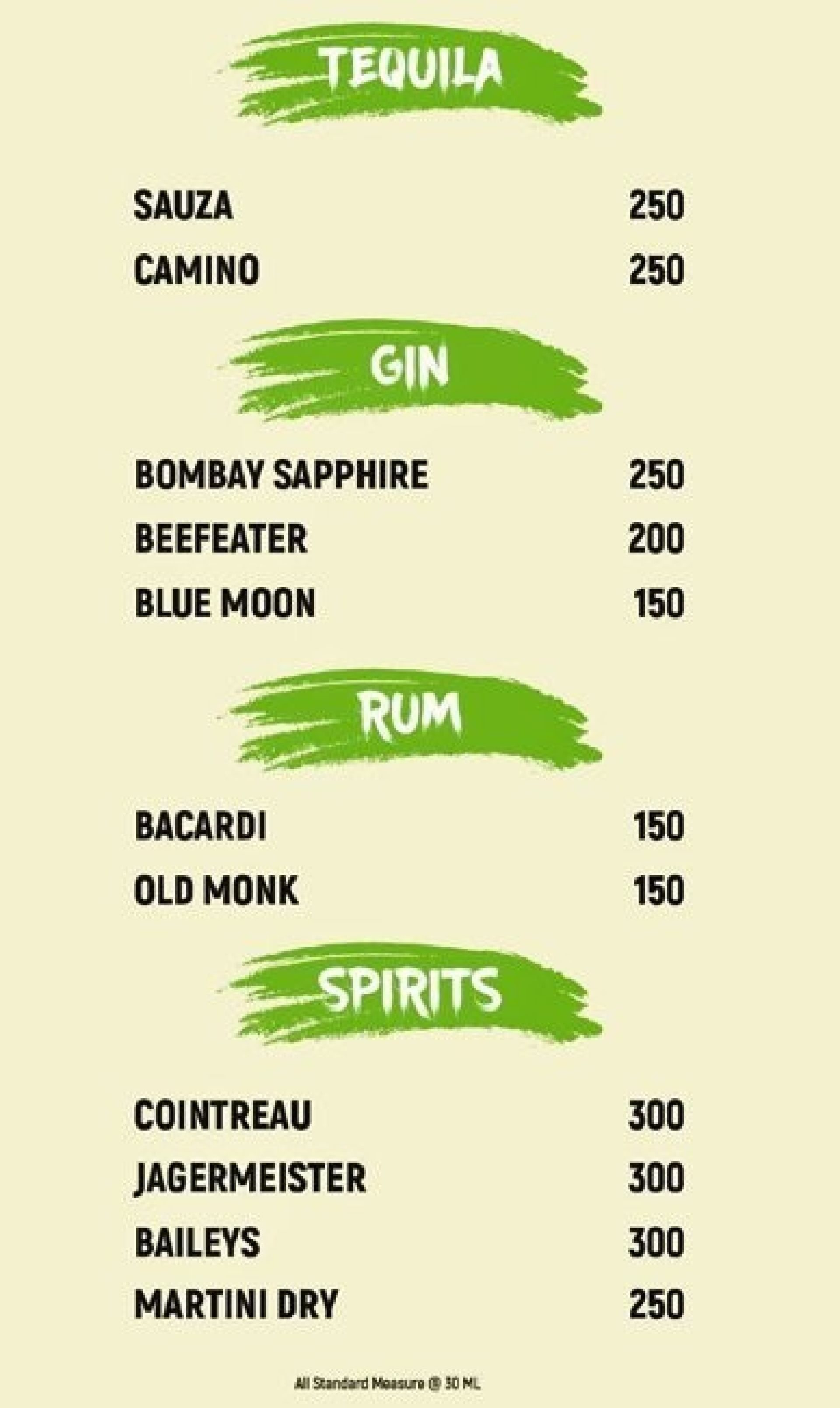 pomelos cafe bar menu green park south delhi prices menu
