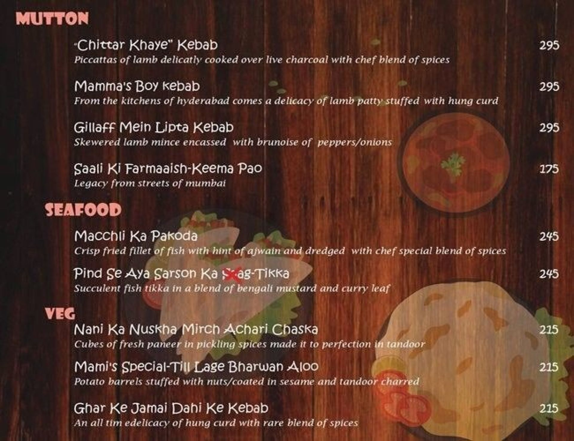 Menu of Ghar Bistro Cafe - New Year, Rajouri Garden, West Delhi ...