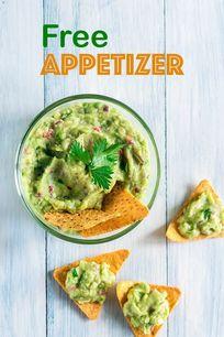 Free Appetizer