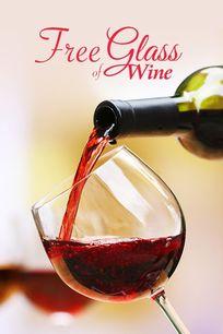 Free Glass of Wine