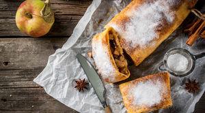 Apple Strudel recipe by Chef Ashish Bhasin