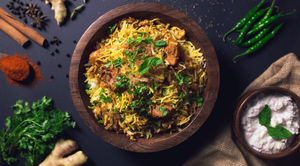 The Biryani Culture of South India