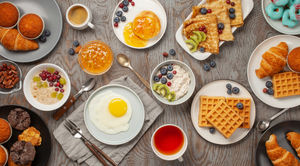Ring In Spring With Lavish Breakfast Spreads in Delhi NCR
