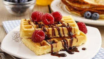 Yummy Belgian Waffles