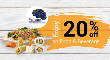 Up to 20% off at Peacock Roof Top