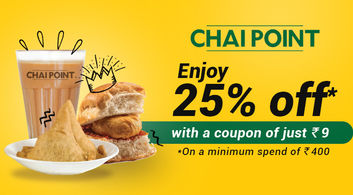 Chai Point offers in Delhi-NCR