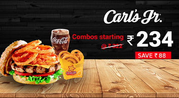 Carl's Jr. combos in Delhi-NCR