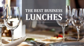 The Best Business Lunches - Chennai