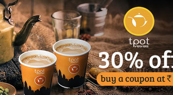 Tpot Café offers in Delhi-NCR