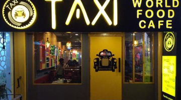 Taxi - World Food Cafe,Vijay Nagar, North Delhi