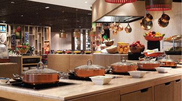 Cafe Knosh,The Leela Ambience Convention Hotel, New Delhi