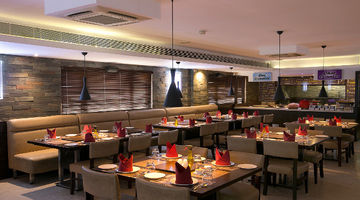 CHILL OUT GRILL,The Iris Hotel, Chennai