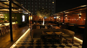 0124 Bar Exchange (Open Terrace Brewery),Good Earth City Centre, Gurgaon