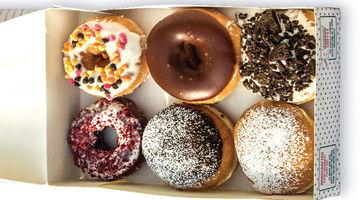 Krispy Kreme,Ambience Mall, Gurgaon