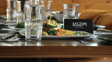 LAGOM Kitchen + Brewery,Sohna Road, Gurgaon