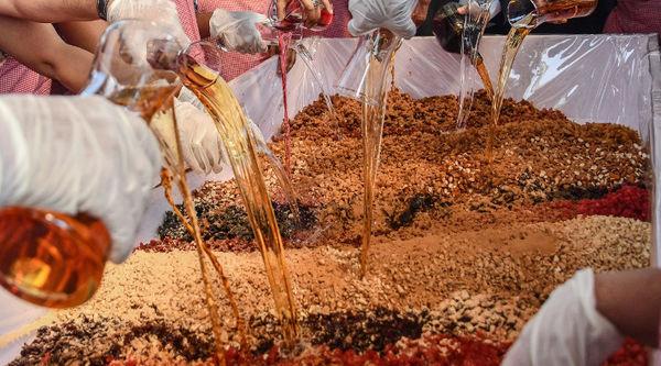A Cake Mixing the Goan Way