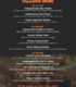 Menu of the Cafe Rouge
