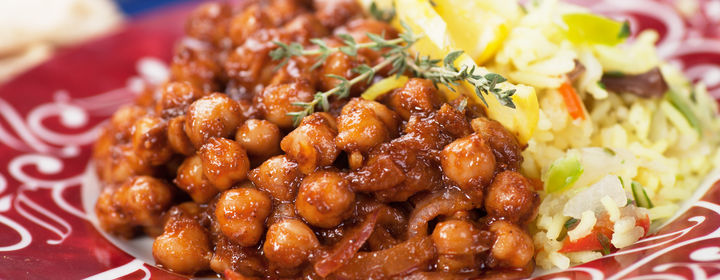 Punjab Restaurant-Yusuf Sarai, South Delhi-bigstock-Chana-masala-chickpeas-with-c-49194572.jpg