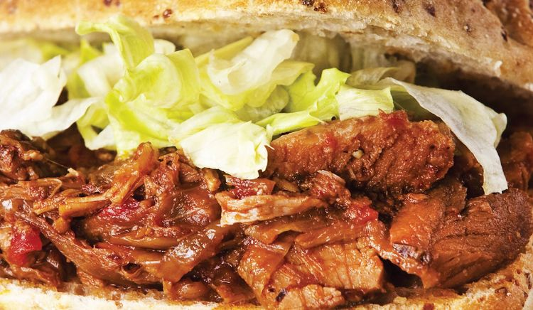 Juicy, Smoky and Slathered with Barbecue Sauce