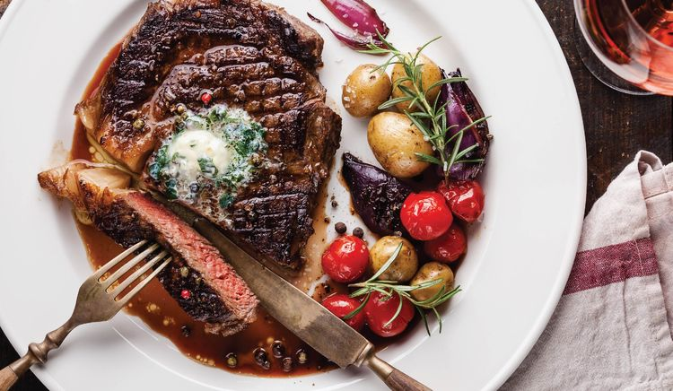 Succulent Steaks with Innovative Sides and Sauces