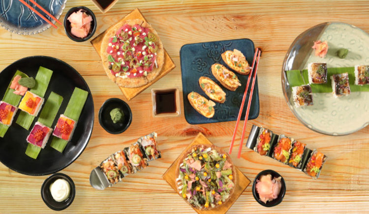 Looking for a fun way to experience Sushi! Here is your chance at The Fatty Bao for Sushi Unrolled Festival.