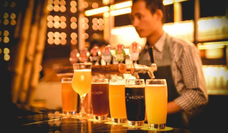 Beers inspired from Indian spices and Indian food with an International touch is what Alchemy has on offer