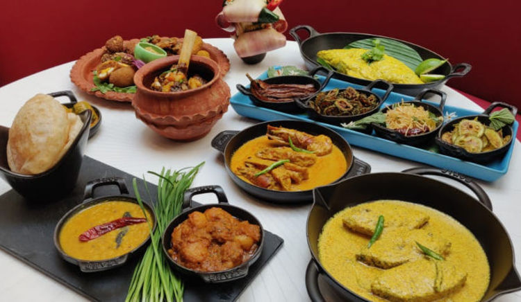 A classic Bengali meal for this Durga Puja in The Oberoi Grand Kolkata