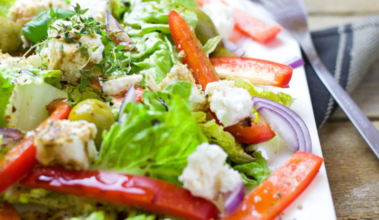 If you are looking to go easy on the grease, hit the salad bar