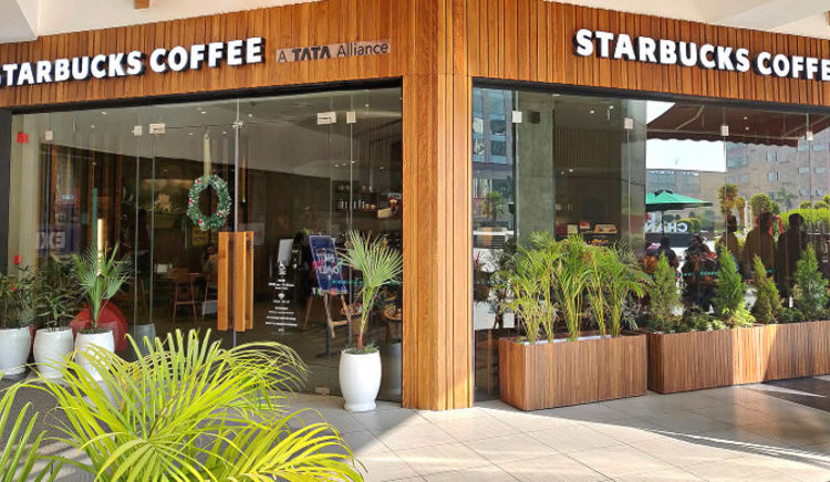 Housed in Elante Mall, the cafe offers signature drinks and light meals