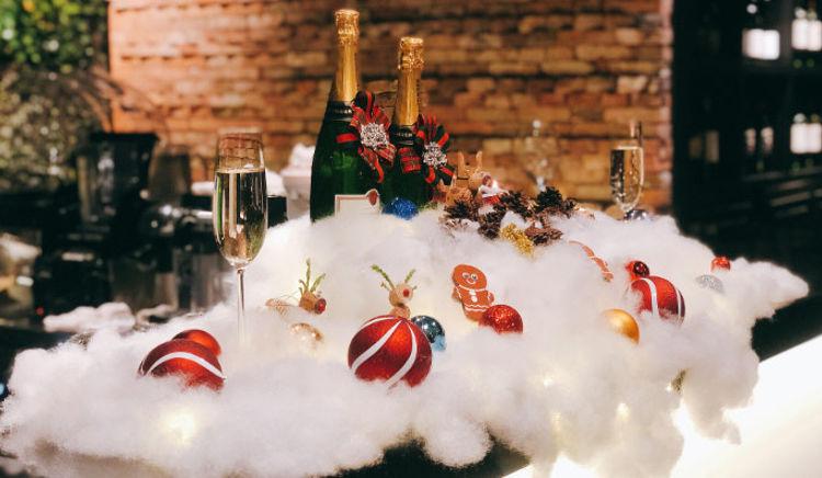Experience festive cheer as you sip some heady tipple