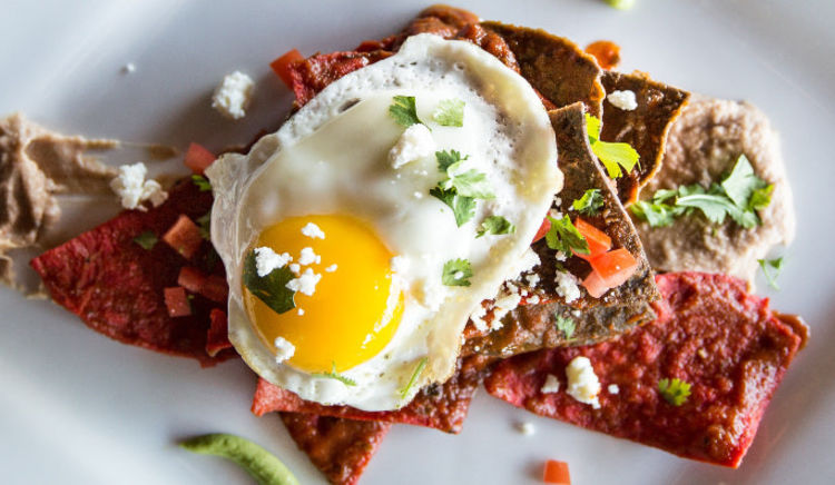 Begin your day with a hearty breakfast