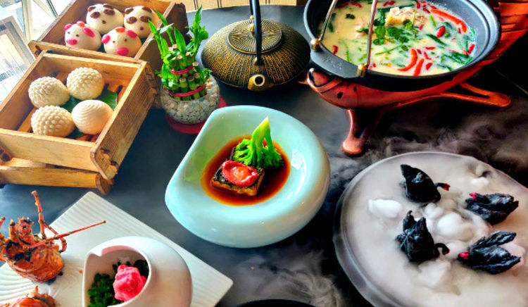 Exotic and authentic Chinese delicacies for Chinese New Year Celebration