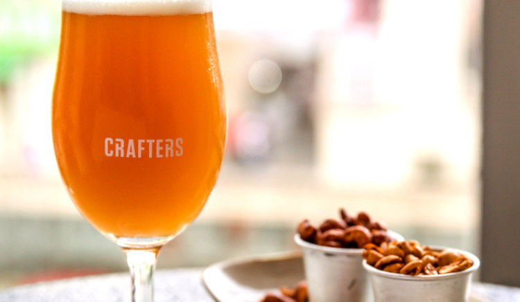 Quench your thirst with offerings from an array of micro-breweries