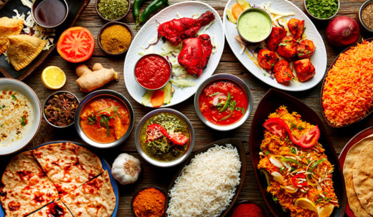 Treat yourself to dishes from across India!