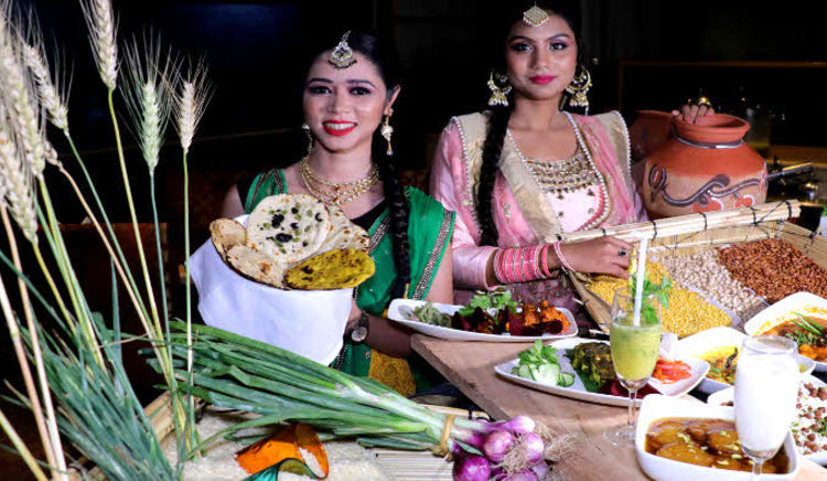 The special menu offers traditional delicacies coupled with regional favourites