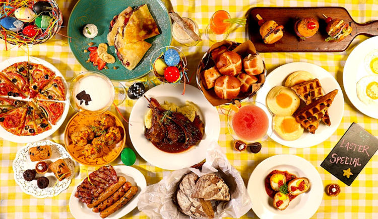 Indulge in sumptuous brunches as you celebrate Easter