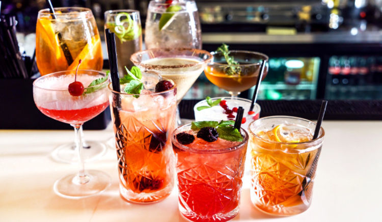 Sit back and sip a refreshing cocktails to beat the heat
