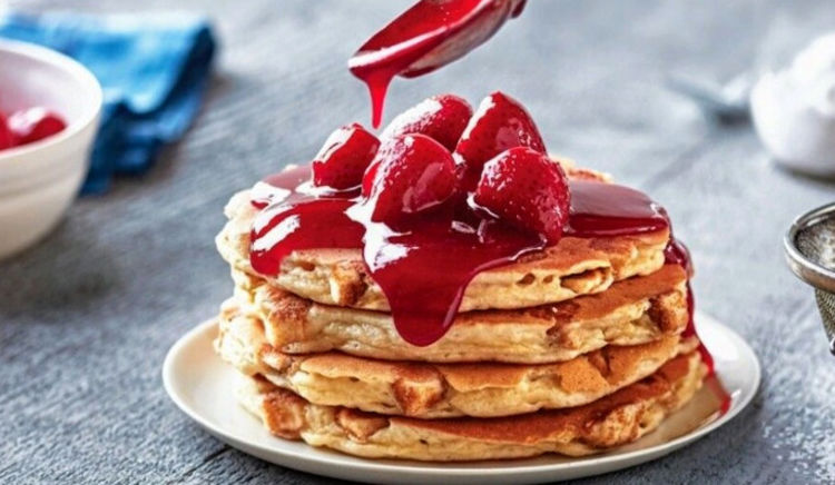 A soft, fluffy Pancake is all you need!
