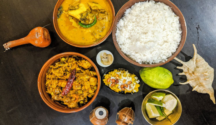 Bengal, the vibrant land of arts, Literature, culture can't be left behind when it comes to food!