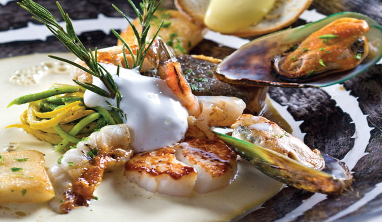 Relish classic dishes from France