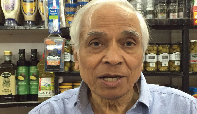 The man behind the legendary food store